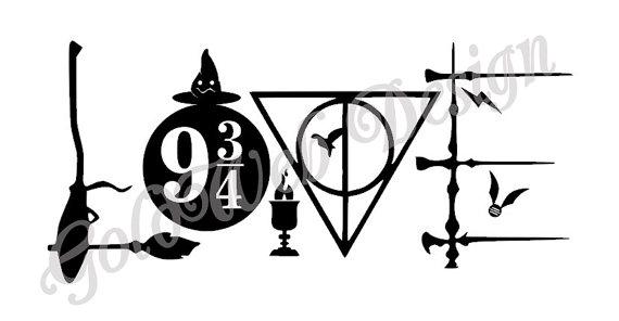 Download Harry Potter Line Art | Free download on ClipArtMag