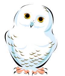 215x252 Snowy Owl Clip Art Snowy Owl Christmas Decor Owl