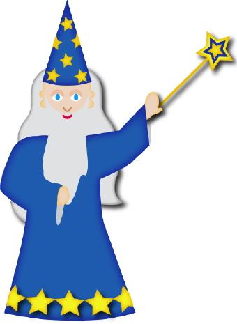 340x465 Wizard Cliparts