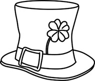 Hat Black And White Clipart