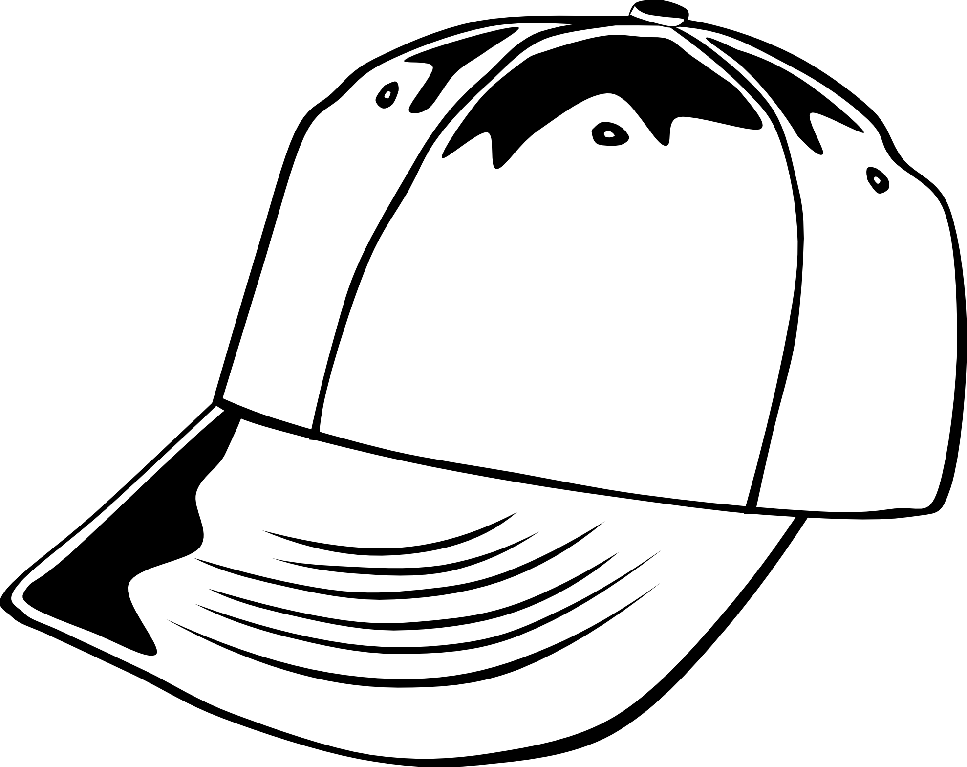 1979x1569 Hat Black And White Pirate Hat Clipart Black And White Free