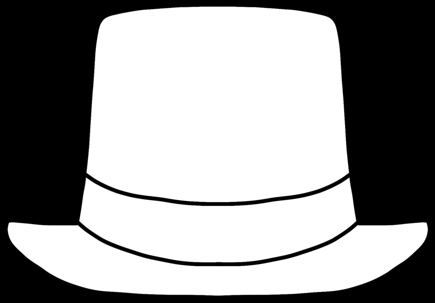 1520x1060 Monochrome Clipart Hat