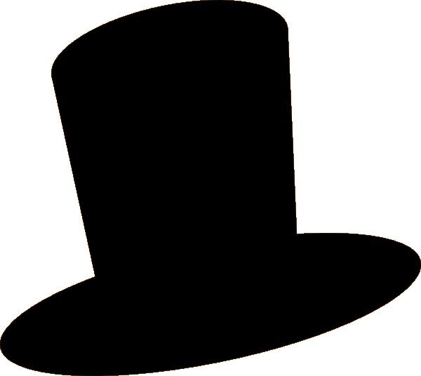 600x536 Black Hat Clip Art