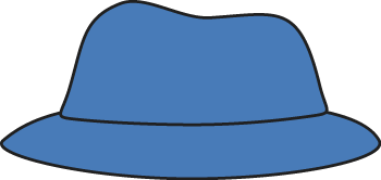 350x166 Blue Hat Clip Art