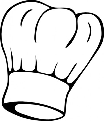 366x425 Chef Hat Clipart Black And White Free Images