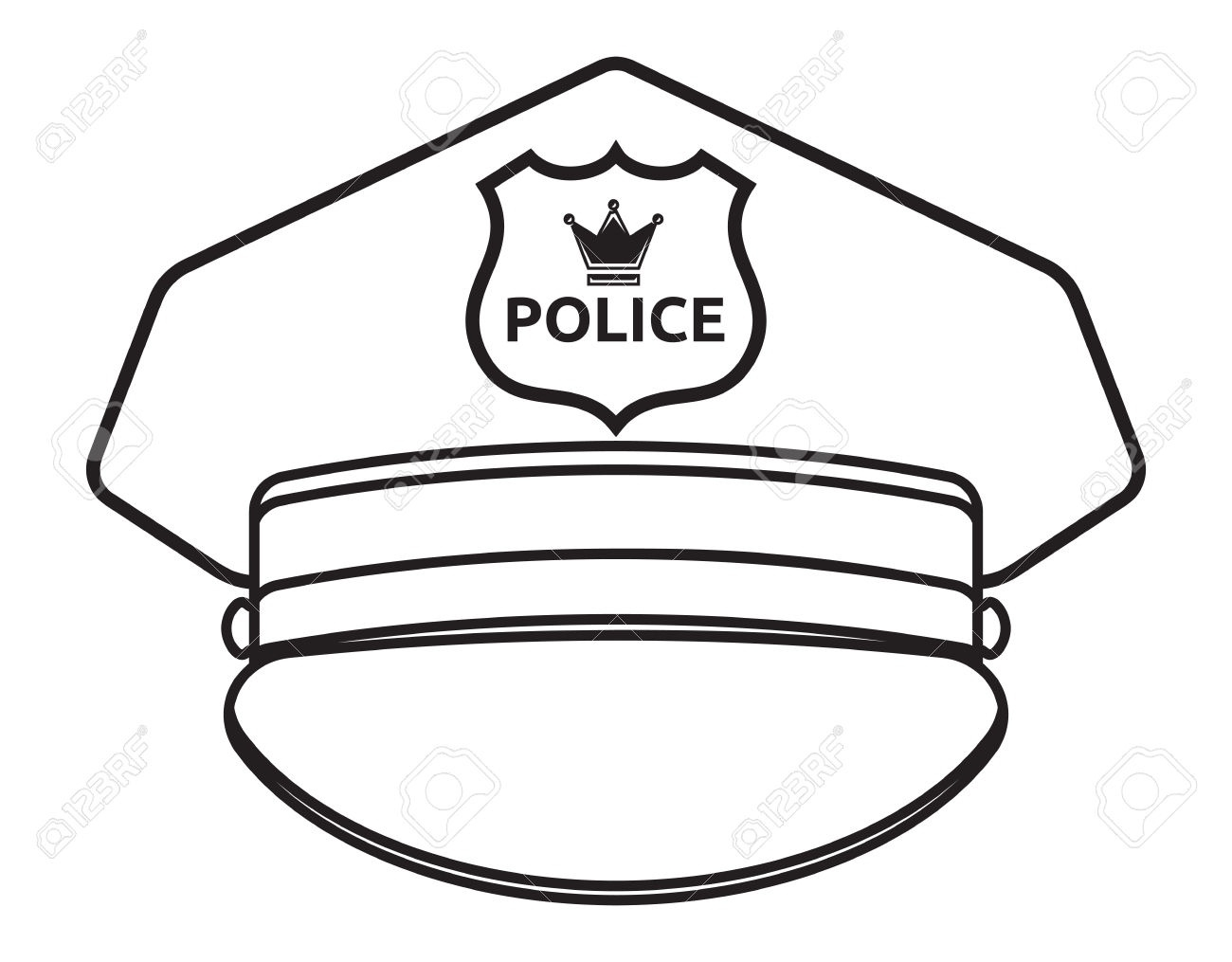 Hat Clipart Black And White | Free download best Hat Clipart Black ...