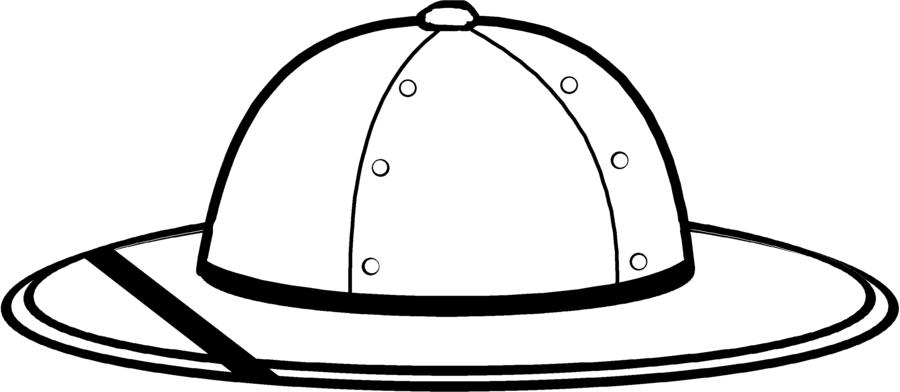 900x392 Safari Clipart Hat Clip Art