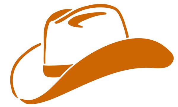 600x361 Cowboy Hat Clip Art Clipart Panda