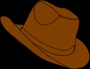 300x231 Cowboy Hat Clip Art