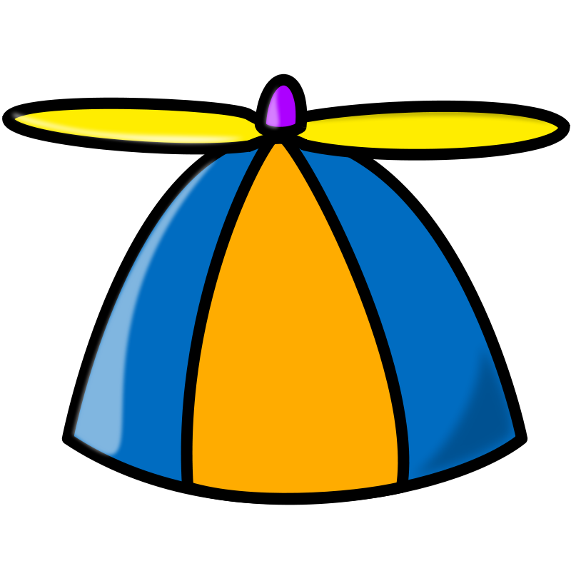 800x800 Free Propeller Hat Clip Art