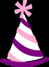 208x282 Party Hat Clipart Transparent Background