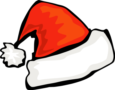 400x313 Christmas Hat Clipart