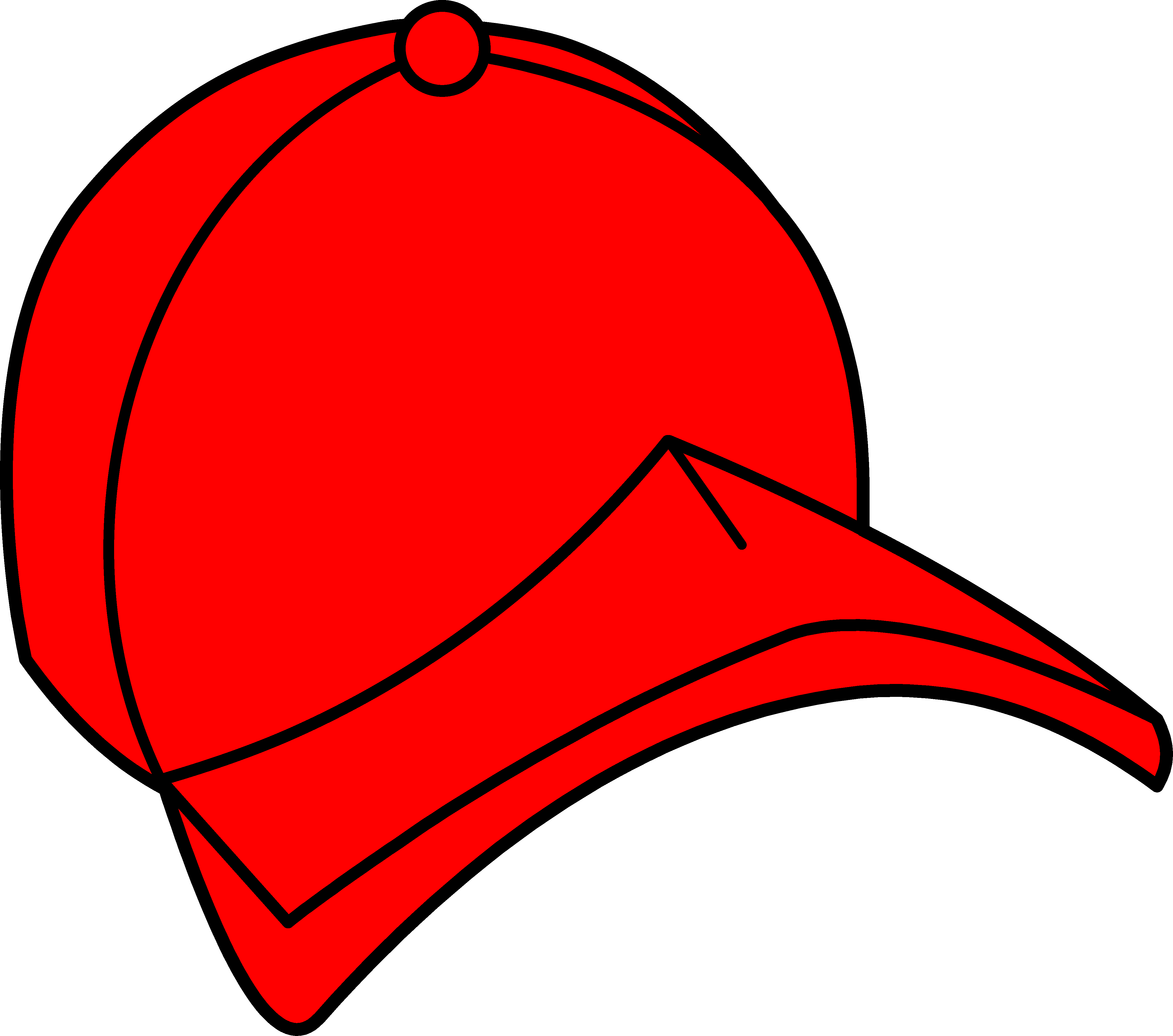 4554x4020 Hat Red Baseball Cap Clipart Free Clip Art