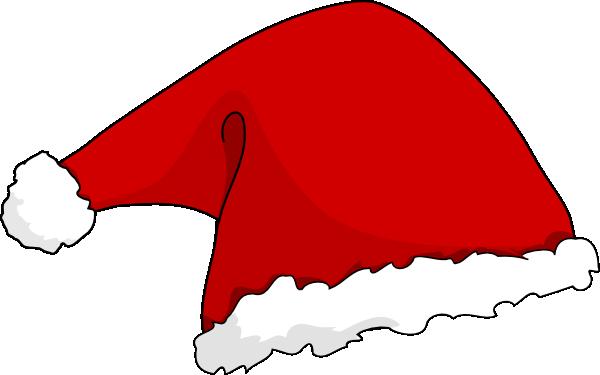 600x375 Santa Hat Clipart Cartoon Christmas
