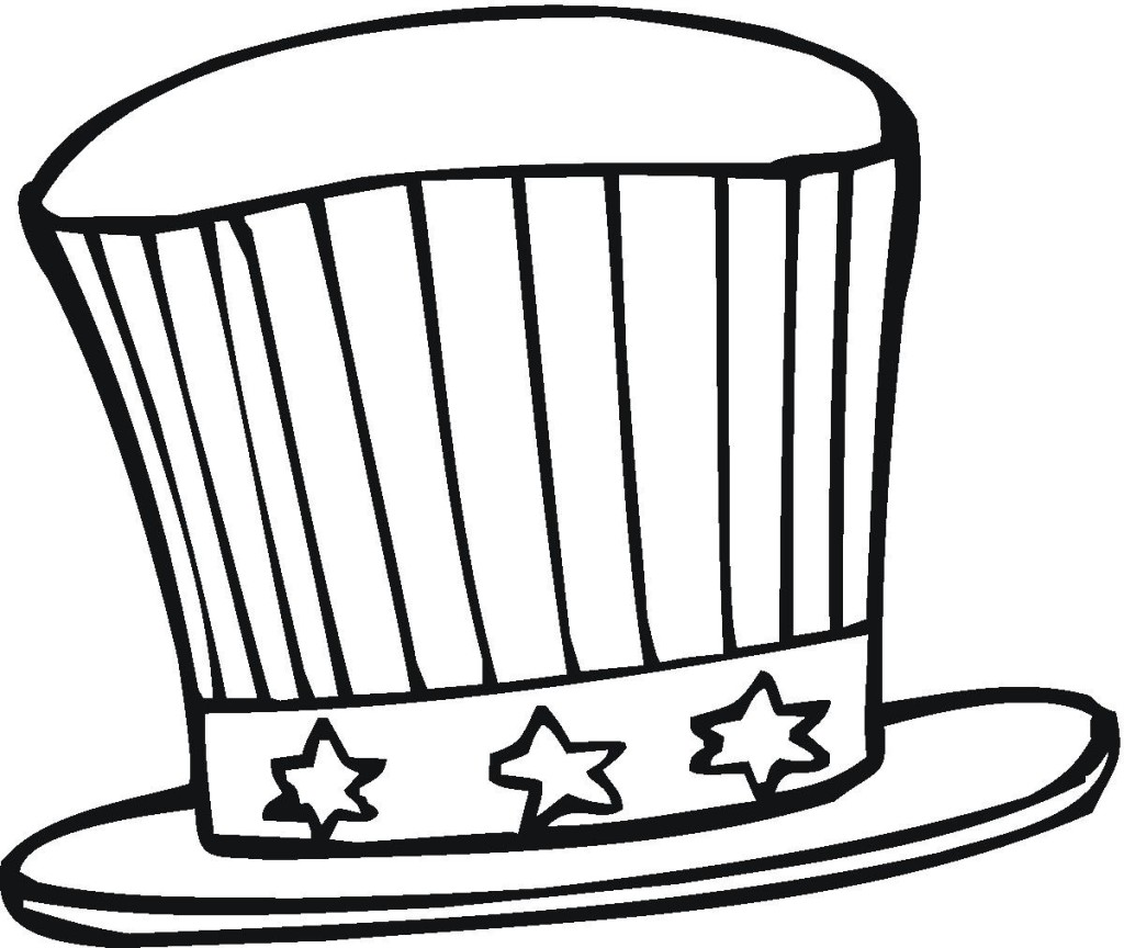 1024x864 Hat Coloring Page Best Coloring Pages