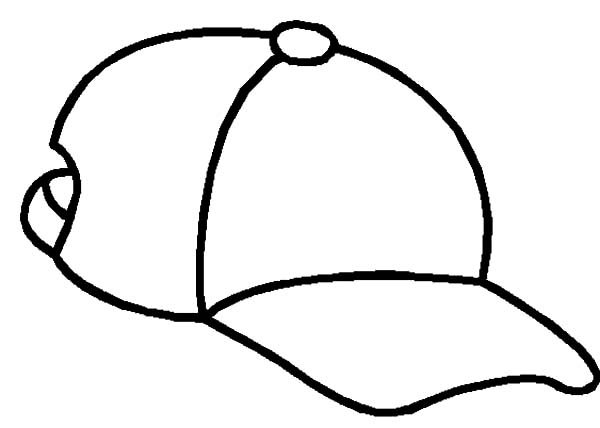 600x428 Simple And Easy Cowboy Hat Coloring Pages Sun