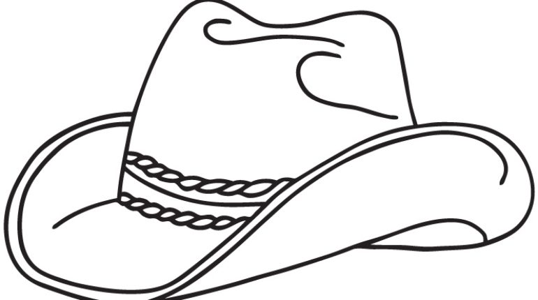 770x430 Stunning 19 Images Winter Hat Coloring Page