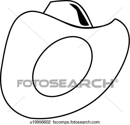 450x433 Clipart Of Cowboy Hat U19956602