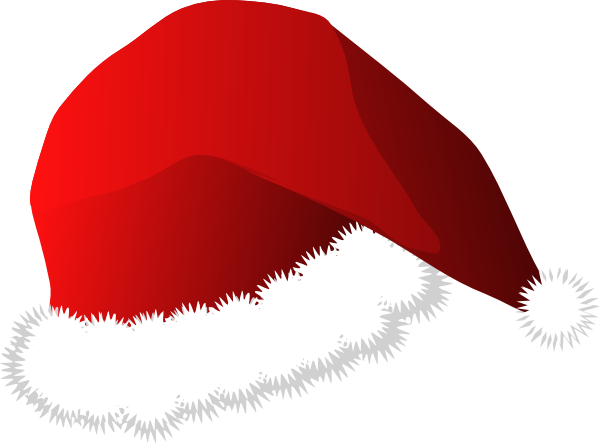 600x443 Santa Hat Cartoon Clip Art