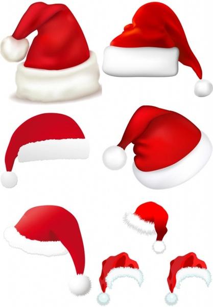 417x600 Santa Hat Clipart Realistic