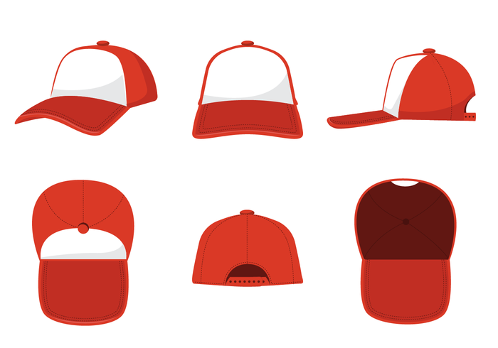 700x490 Trucker Hat Vector
