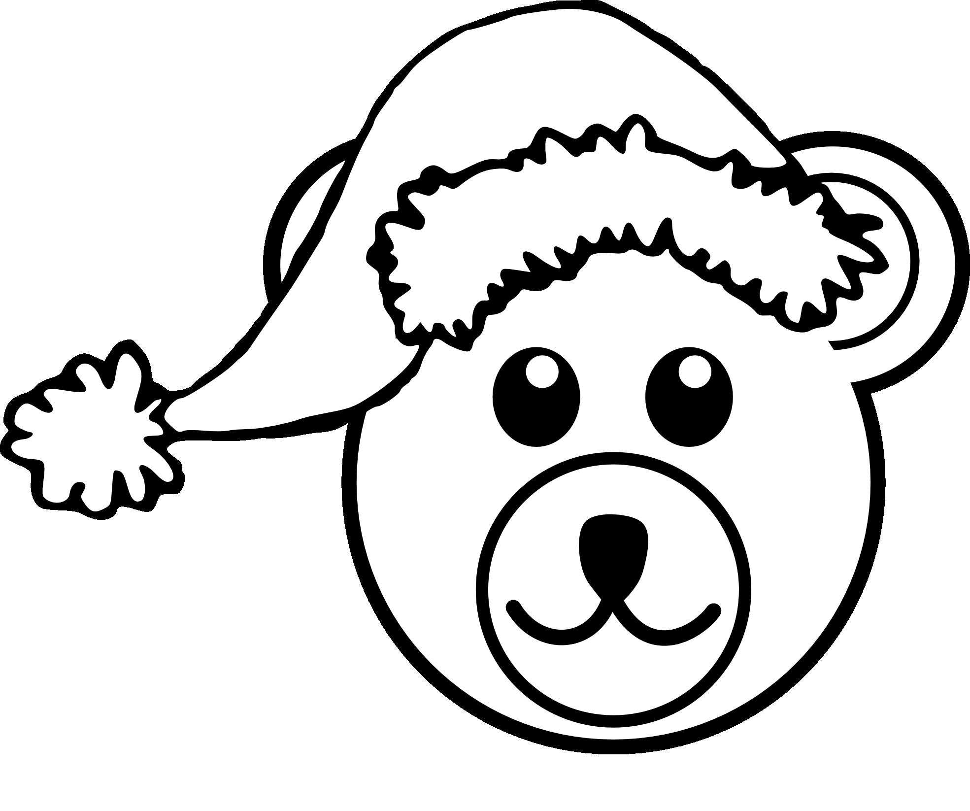 1969x1646 Teddy Bear Outline Clipart