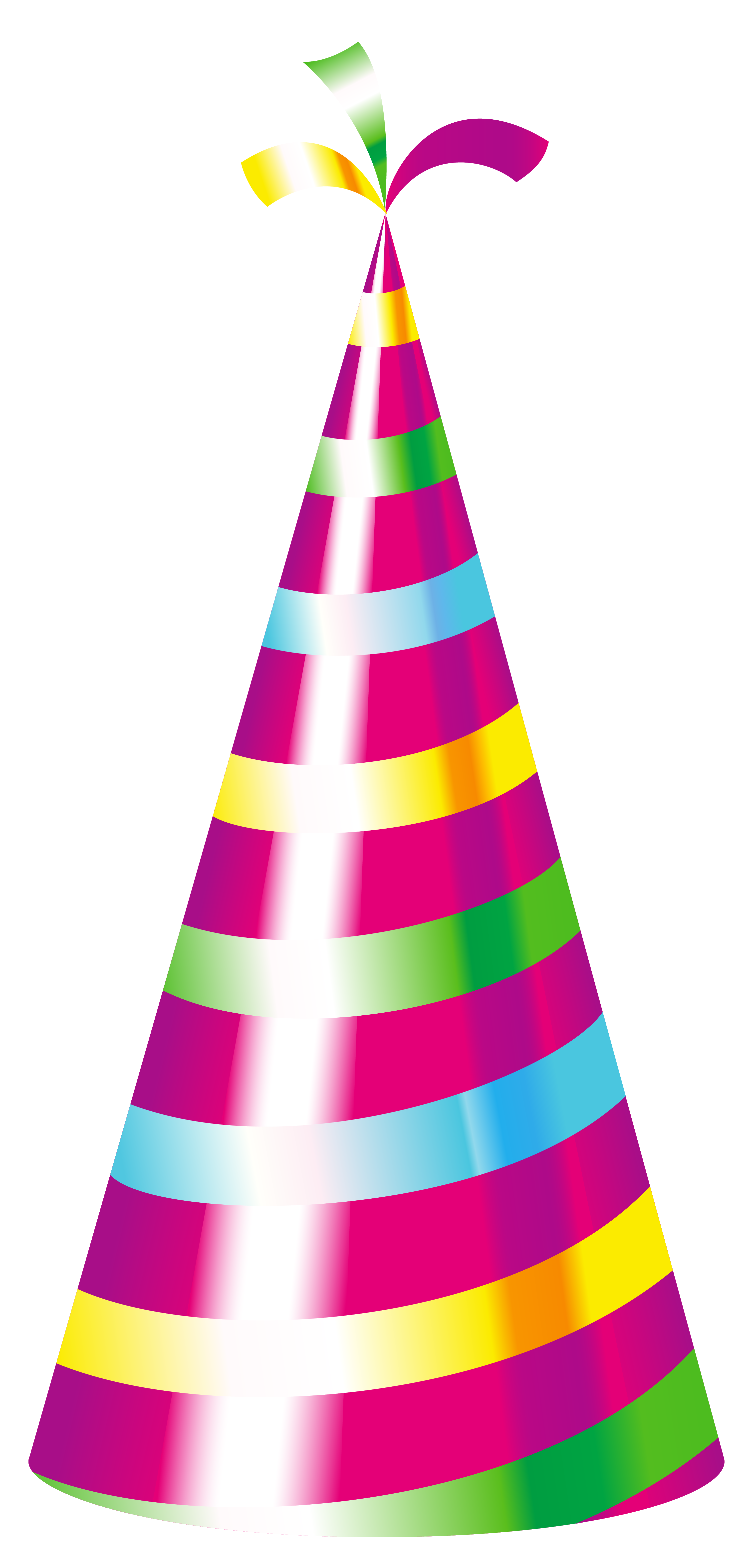 3015x6279 Party Hat Clipart Transparent Background