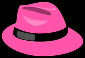 299x204 Pink Hat Clip Art