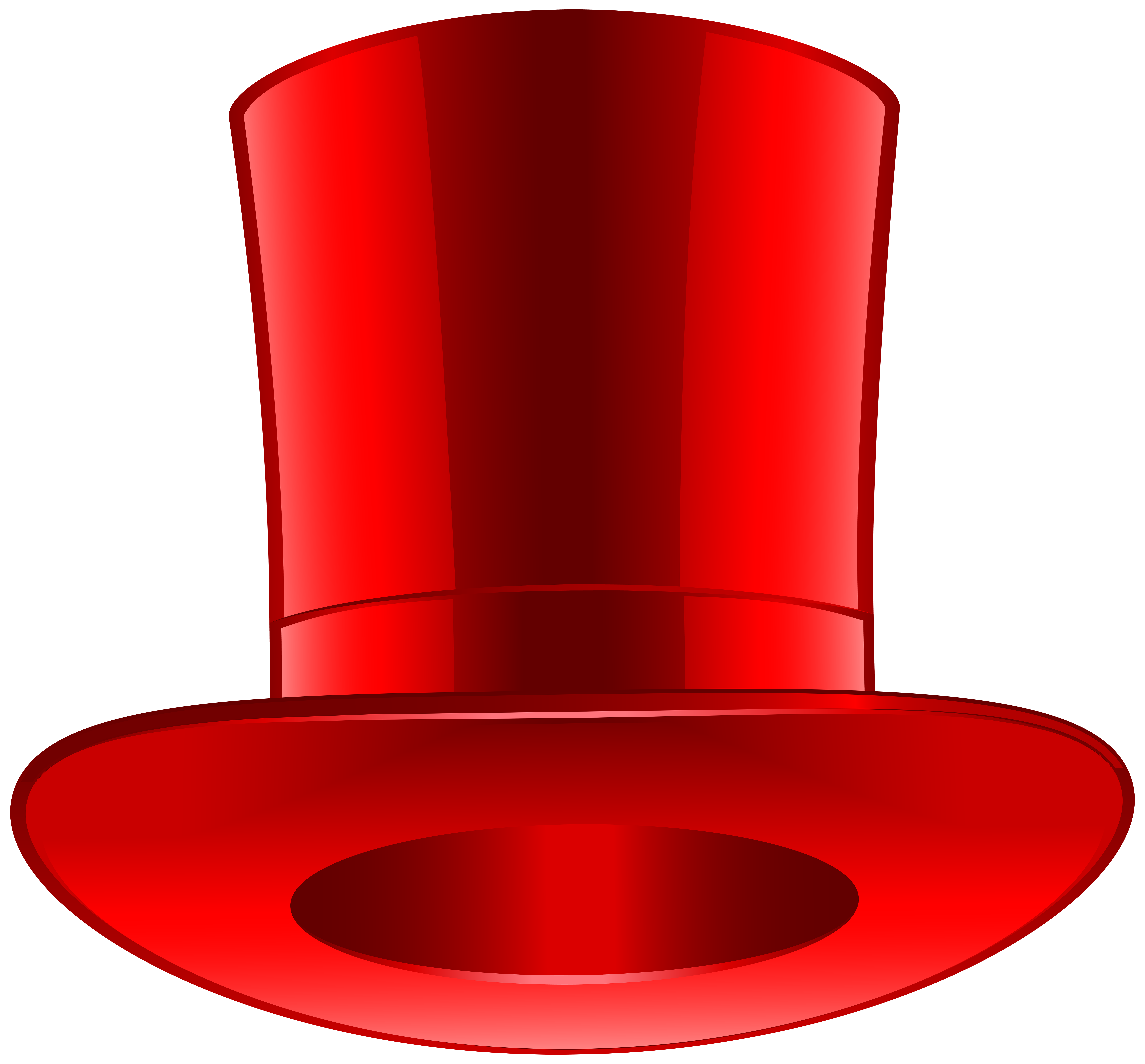 8000x7435 Red Top Hat Png Clip Art