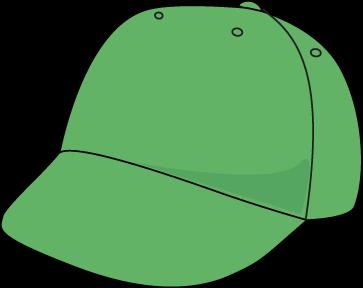 363x288 Green Baseball Hat Clip Art