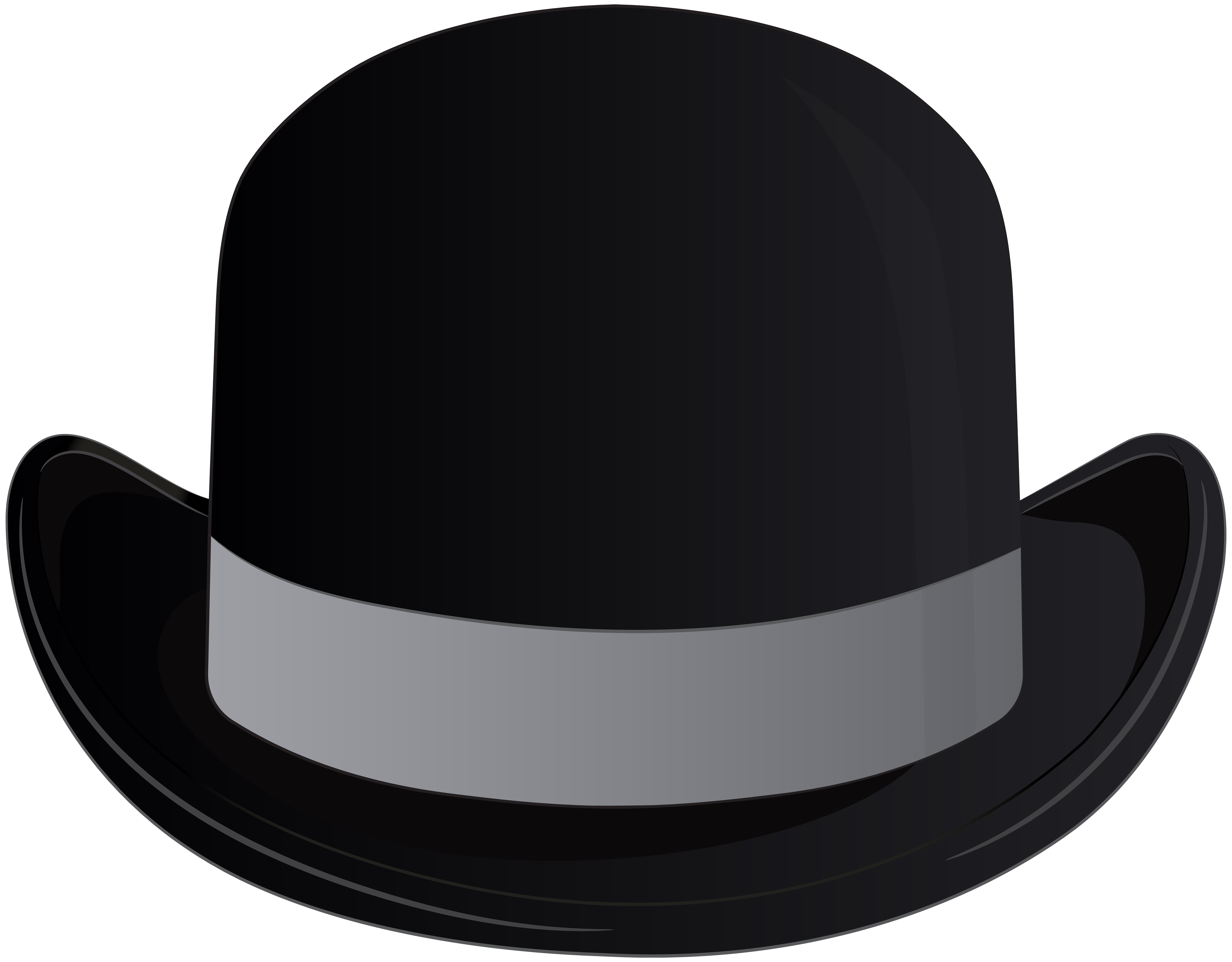 8000x6248 Bowler Hat Transparent Clip Art Png Imageu200b Gallery Yopriceville
