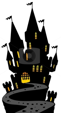 245x450 Haunted House Clipart Haunted Castle