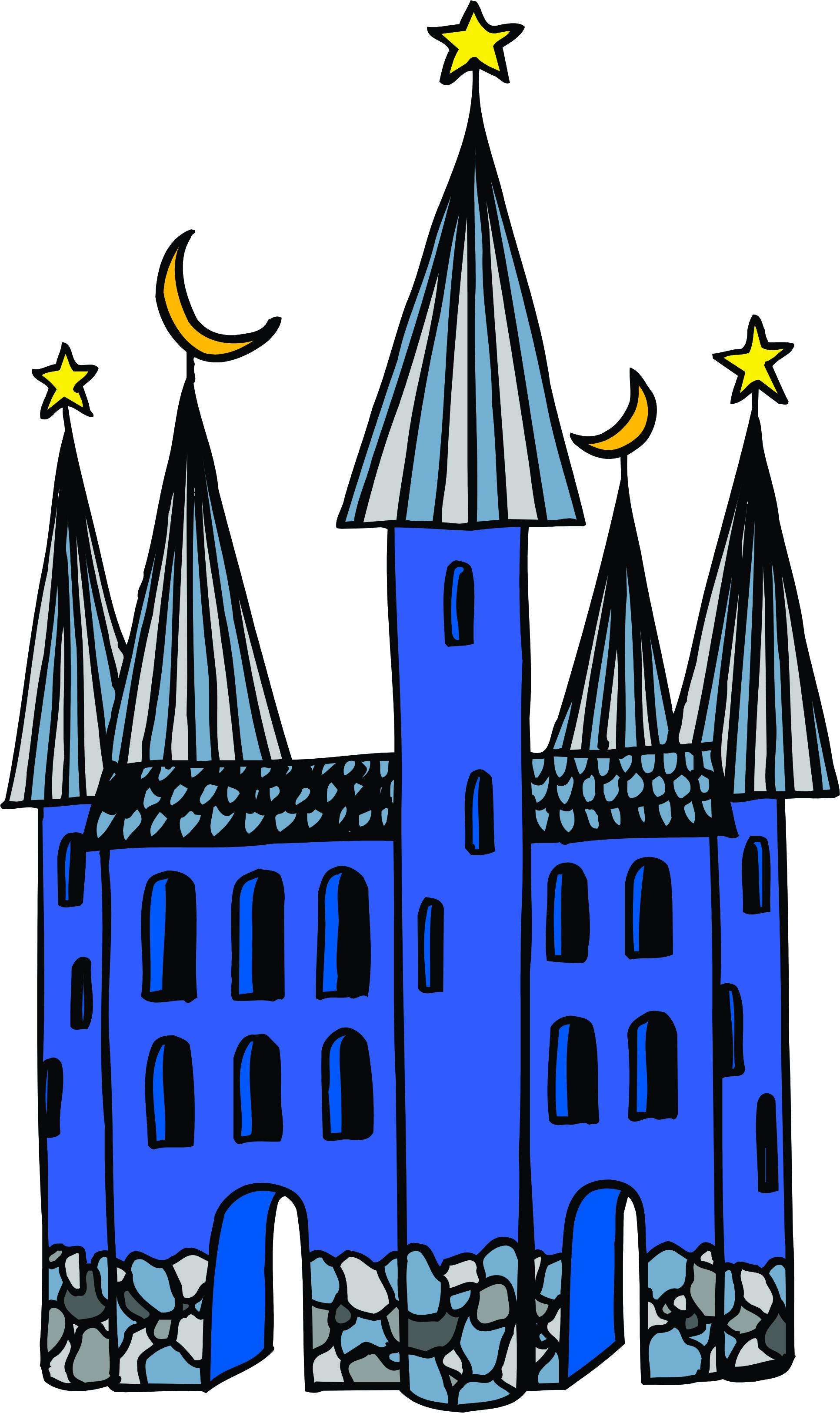 1932x3248 Castle Clipart Animated