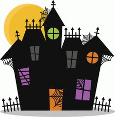 236x240 Haunted House For Sale Clip Art