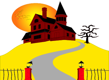 368x270 Haunted House Clipart Bungalow