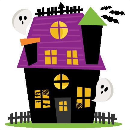 432x432 Haunted House Clipart Cute