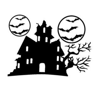 340x270 Haunted House Clipart Haunted Tree