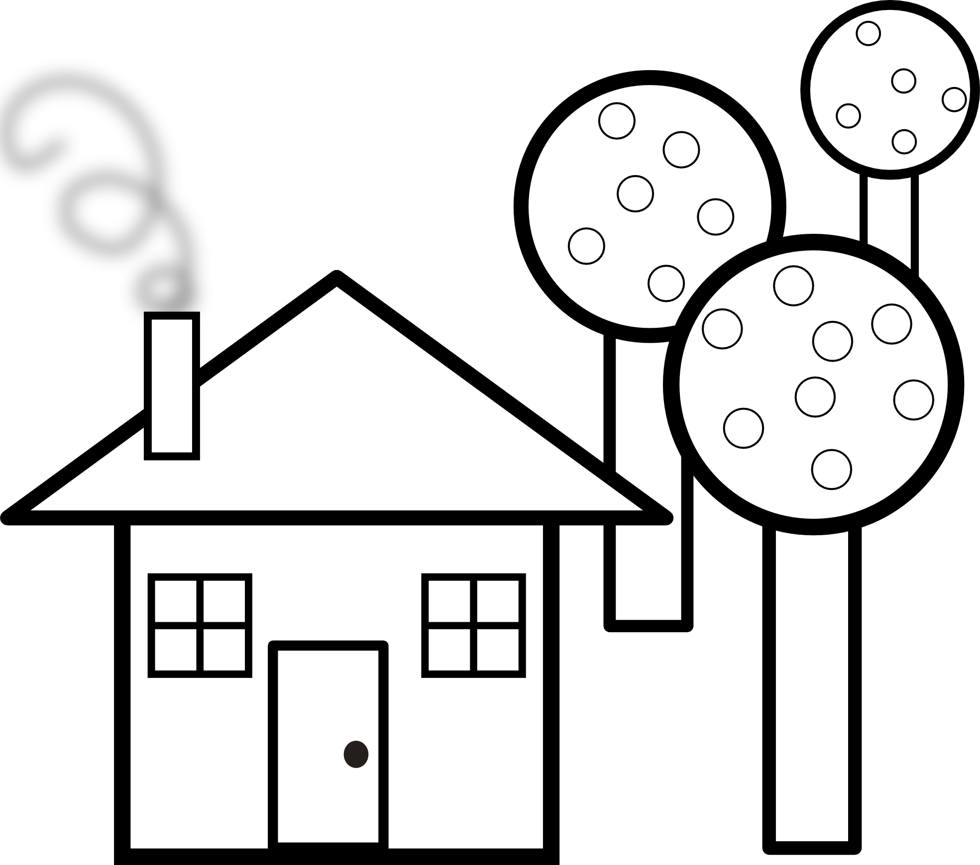 1969x1739 Haunted House Clipart My House