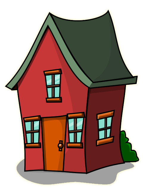 480x640 Image Of Cute House Clipart
