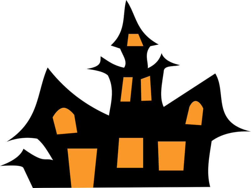 800x600 Web Haunted House Clip Art Haunted House
