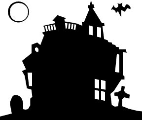 288x243 Free Haunted Houses Clipart Clipart Panda