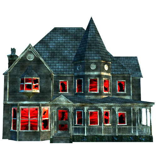 500x500 Haunted House