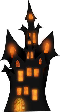 236x440 Spooky House Halloween Clip Art Halloween Wizard
