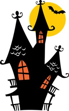 236x378 Svg Haunted House Witch Silhouette Design, Haunted