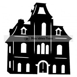 264x264 76 Best Haunted Houses Space Images Diy, Painting