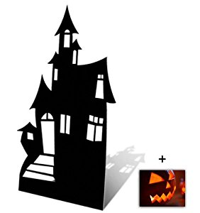 282x300 Haunted House (Silhouette)