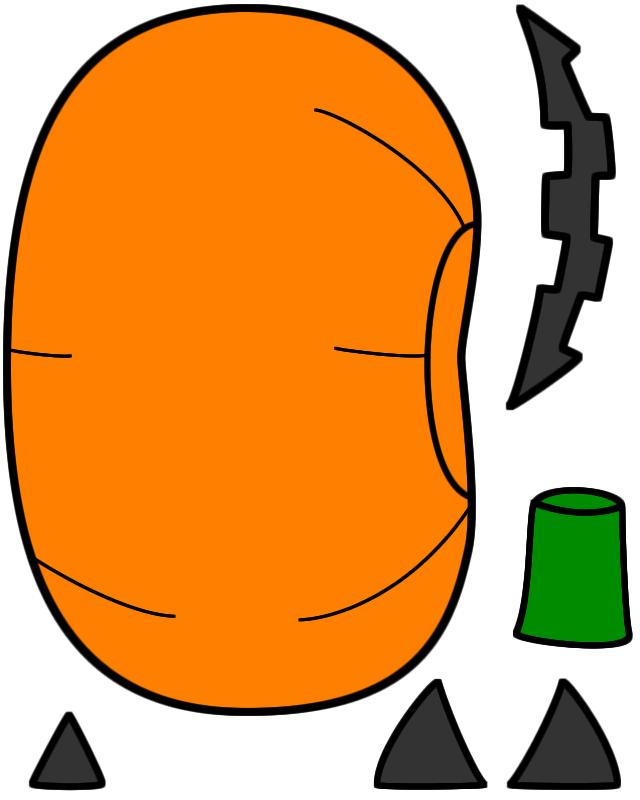 640x800 Halloween Pumpkin