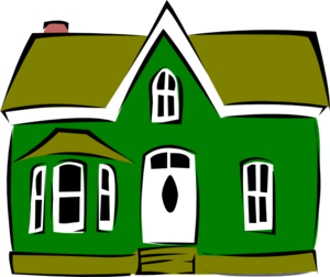 300x252 Mansion Haunted House Clip Art