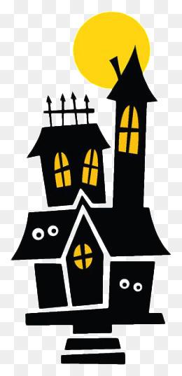 260x537 Halloween Horror Haunted House, Crazy Halloween Poster Elements