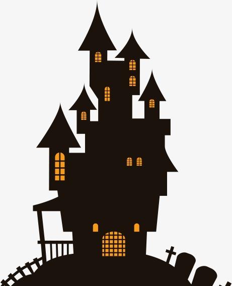 461x568 Halloween House, Halloween, House, Haunted House Png Image